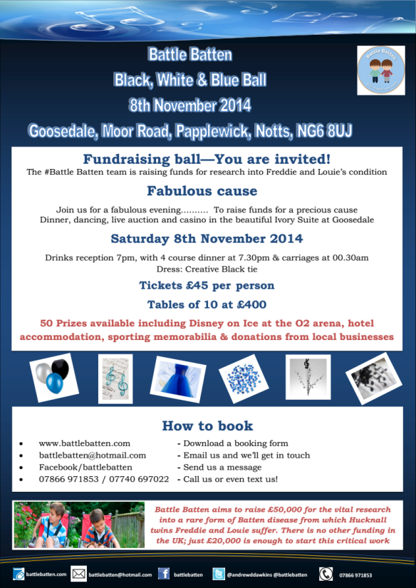 Battle Batten Ball 8th November